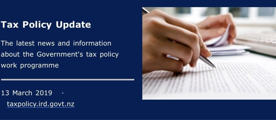 Tax policy update